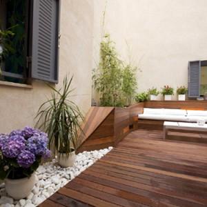 Diseño e instalación de jardín ecológico. Patio