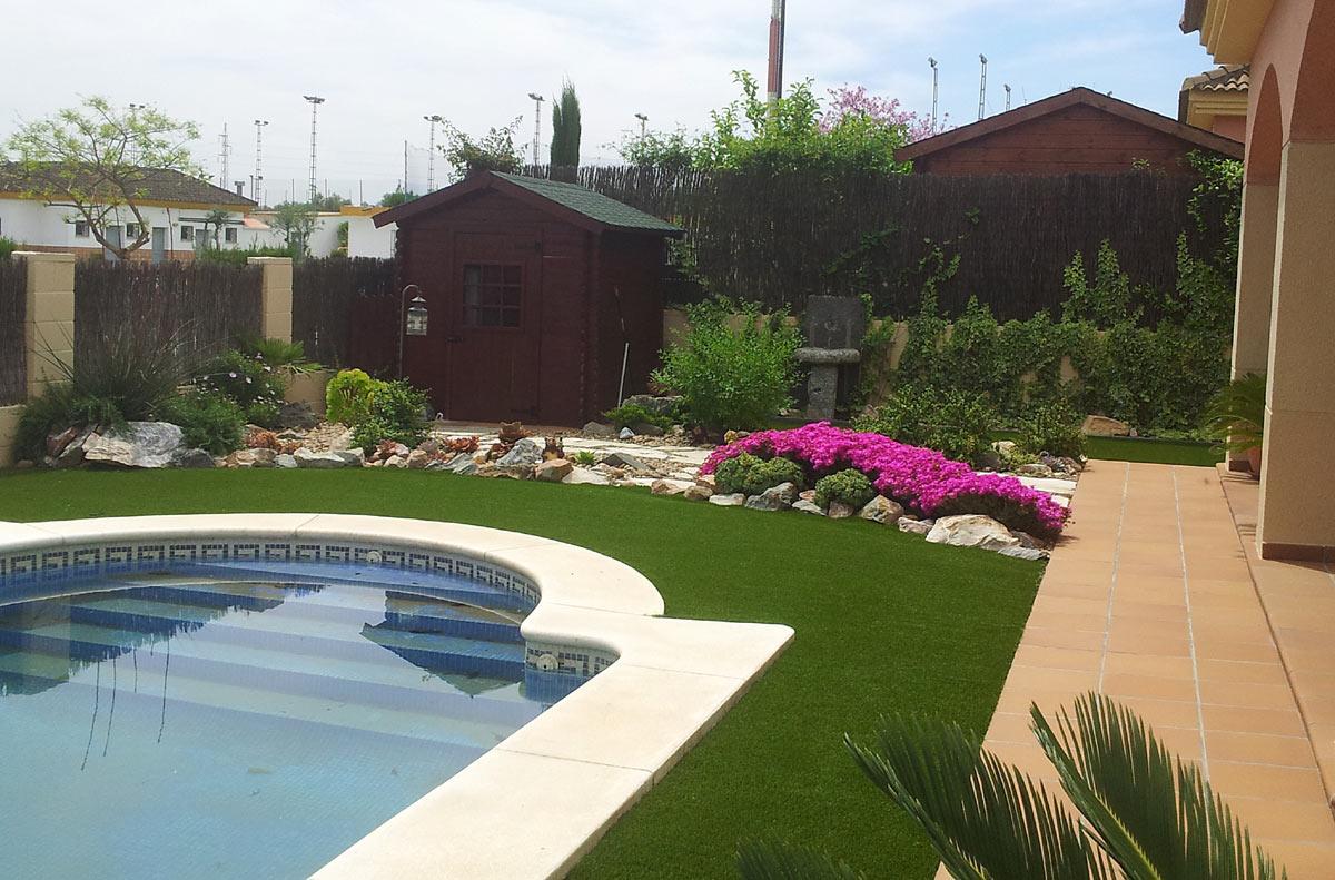 Dise o e instalaci n de jardines azul jardines - Diseno de un jardin ...