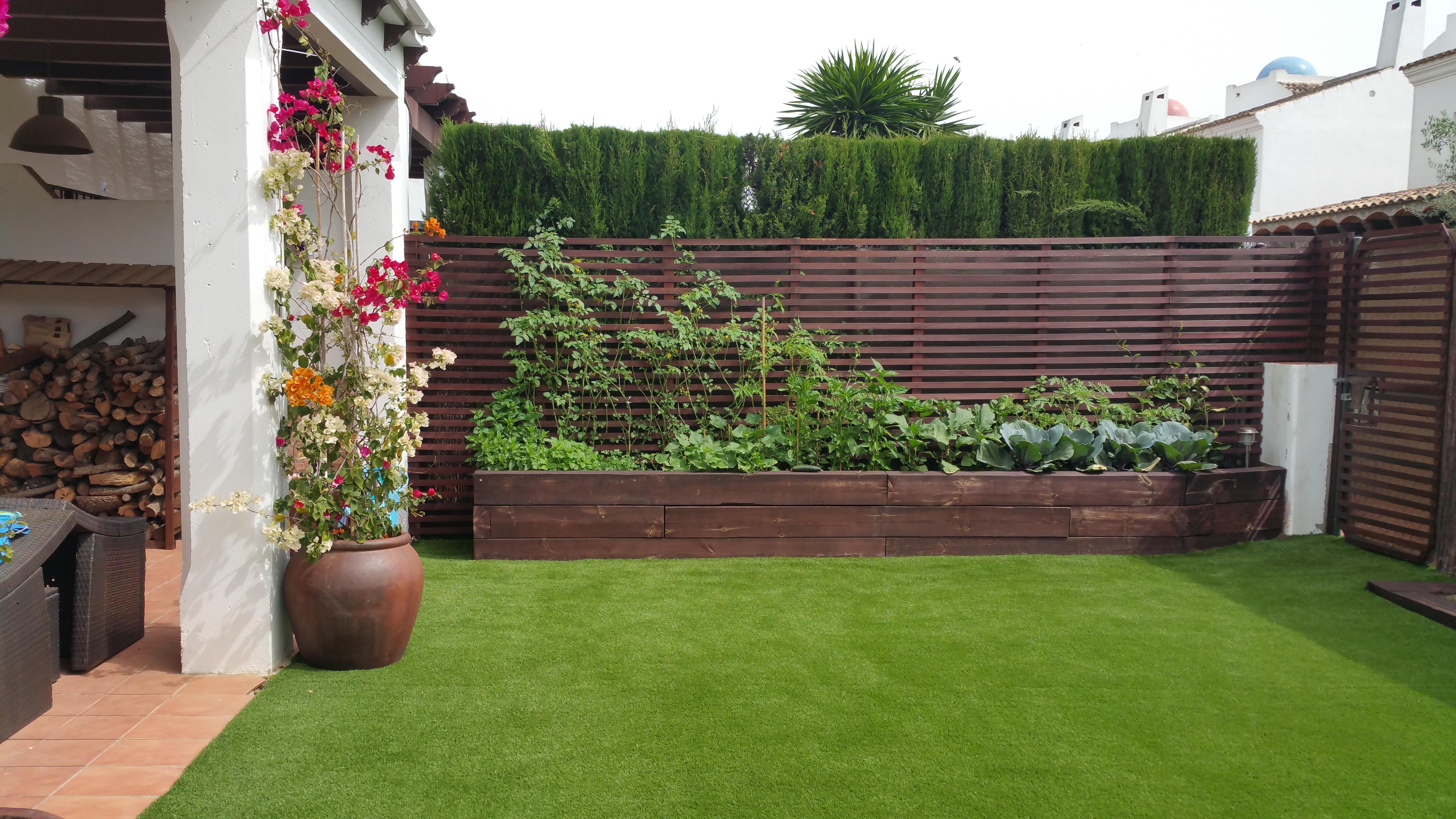 Instalación de césped artificial - Azul Jardines