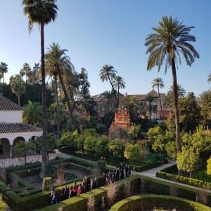 Paisajismo francés en Sevilla