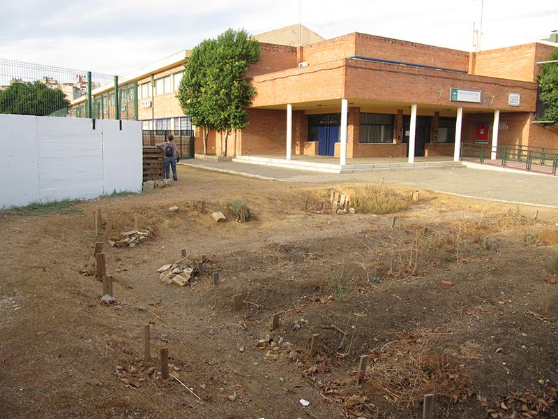 AzulJardines_educacionambiental_CEIPAndalucia_huertoescolar_antes_2
