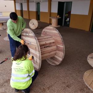 azuljardines_ceipAntonioMachado_zona actividades_preparacion